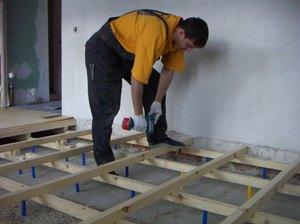 Поэтапное руководство для изготовления деревянного пола на грунте