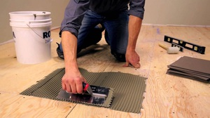 Правила подготовки деревянного покрытия для укладки плитки
