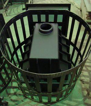 Везувий Легенда 28 - это современная кованая печь для бани