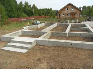 Фундамент  для бани на участке мало отличается от фундамента для обычного небольшого дома