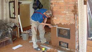 Применение шамотной глины для оштукатуривания