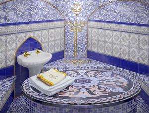 حمام تركي بناء