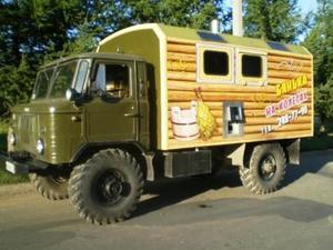Баня из грузового автомобиля - практичное решение