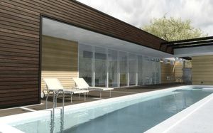 Дизайн бассейна в бане