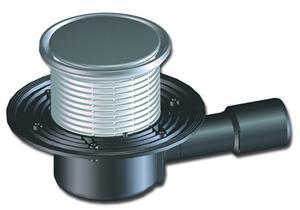 Гидрозатвор для канализации попалвкового типа