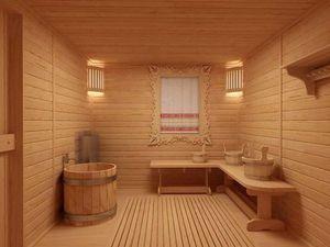 Описание назначения внутренних помещений бани