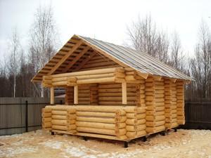 Описание затрат на постройку и планировку бани 6 х 6