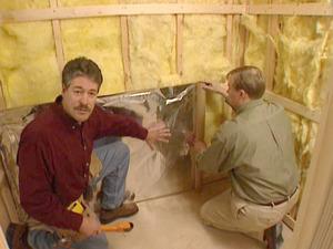 Правила и нюансы установки утеплителя с фольгой в бане и сауне
