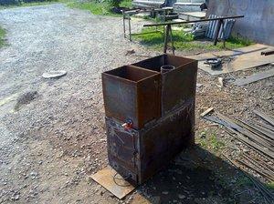 Печь для бани из металла своими руками (78 фото чертежи