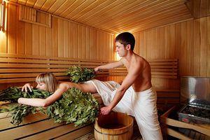 Попариться в бане
