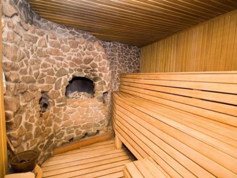 Каменная баня своими руками проекты