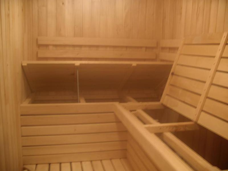 Парная в бане отделка