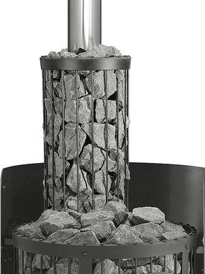 Сетка на трубу в бане своими руками, ее преимущества и назначение камней