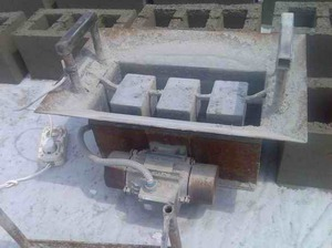 установка по производству строительных блоков своими руками