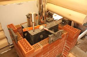 Как сделать печь в баню своими руками: изготовление печи из металла