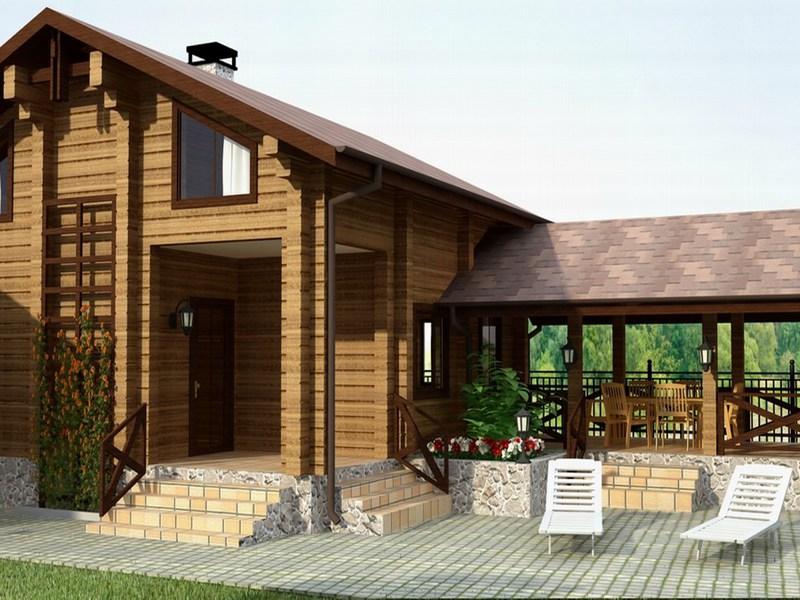 Projekthaus mit Sauna