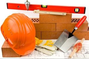 Контрольно-измерительные и строительные инструменты каменщика