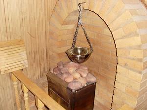 Кладка печки в бане 5