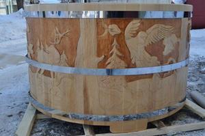 Как сделать купель деревянную своими руками