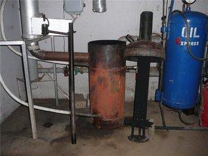 Как сделать котел на отработанном топливе