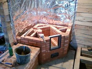 Водяной котел заложенный в кладку