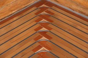 Схема укладки труб на деревянное основание