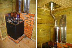 Установка теплообменника на трубу банной печи Паяный теплообменник Sondex SL32 Дзержинск