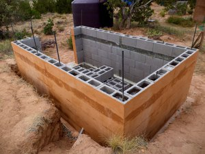 Проекты бань из керамзитобетонных блоков