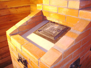 Печь тройка для бани