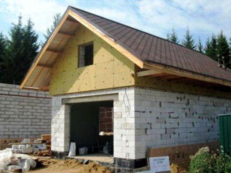 Баня из блоков 6х4 своими руками проекты фото фото 570
