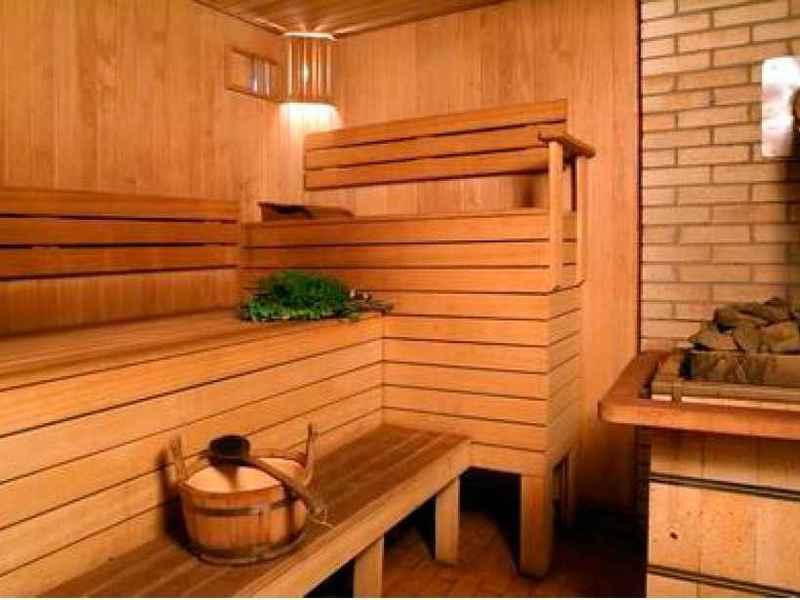 Особенности отделки бани внутри и фото вариантов