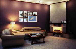 Комната отдыха в сауне в стиле модерн - это решение очень смелое и яркое.