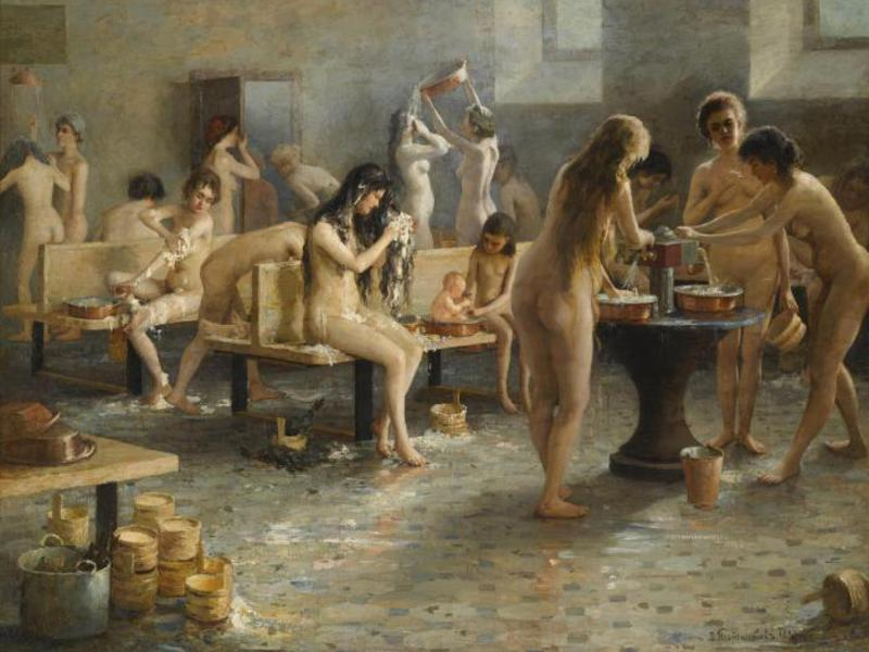 Общая женская баня фото 117-968