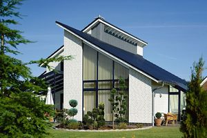 домов с односкатной крышей фото