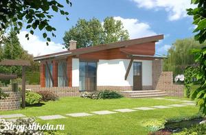 Создание односкатной крыши