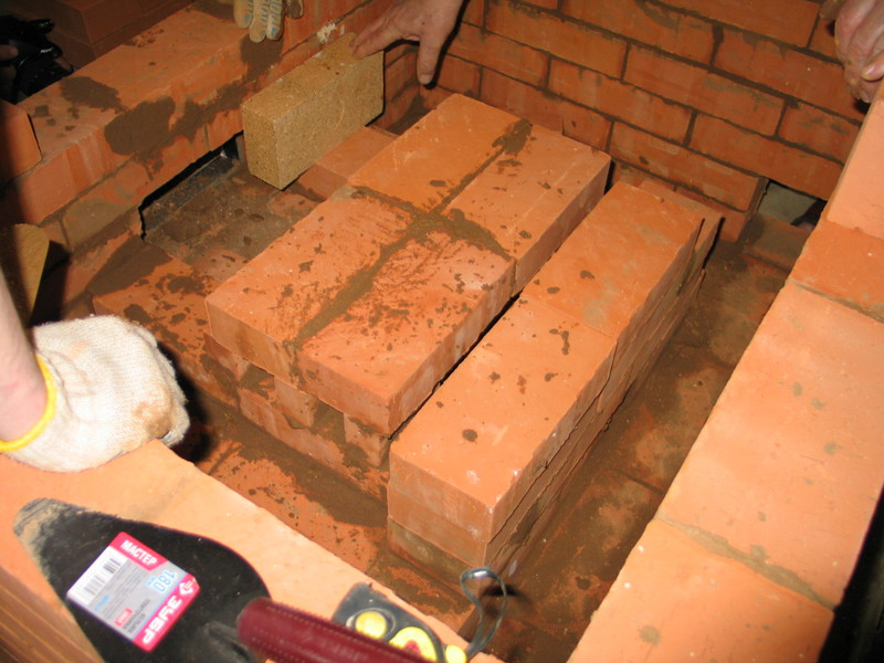 Проекты кирпичных печей для бани, строим своими руками