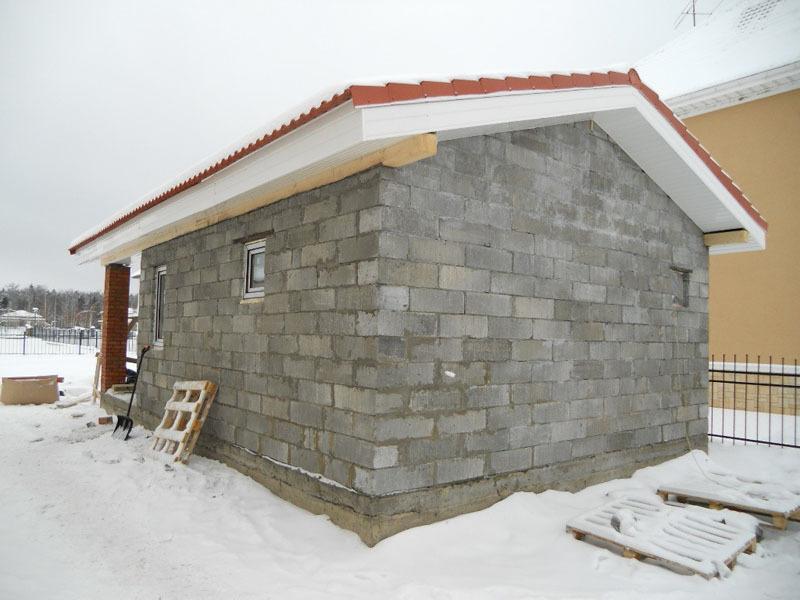 Баня из блока своими руками проекты фото