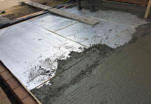 Технология устройства бетонных полов в бане