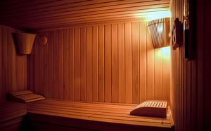 Освещение парильного помещения