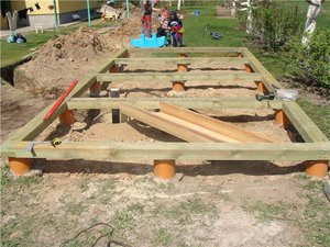 Виды и характеристики фундаментов для строительства бани