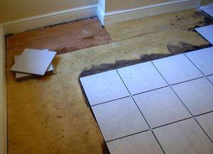Príprava drevenej podlahy na dlaždice