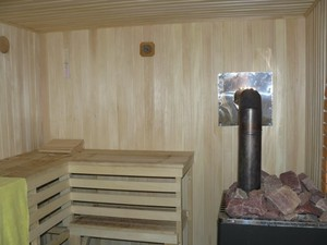 Технология безопасной установки банной металлической печи